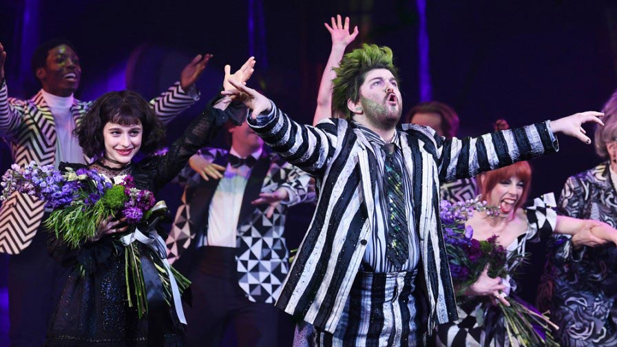 Beetlejuice at Winter Garden Theatre - NY